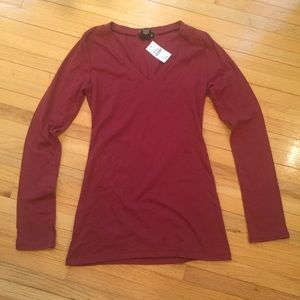 Wet Seal long sleeved tee M  NWT